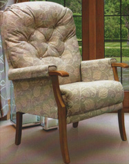 HS1 high seat chair, Parker Knoll.Sofa cleaning, upholstery cleaning Bexley, Sidcup, Dartford, Orpington