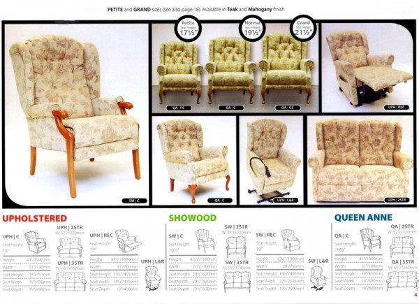 The Langley Collection of High Seat Chairs and Settees