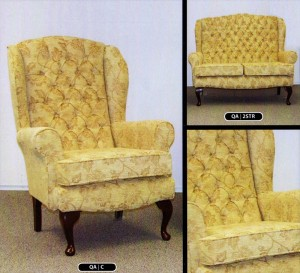 Queen Anne Three Piece Suite