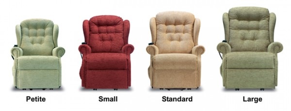 Recliners Sizes