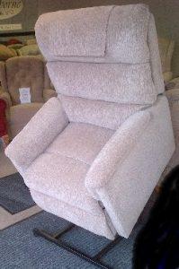 Lamborne lift & rise recliner beige